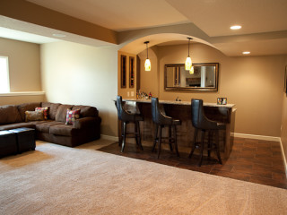 Basement Remodeling In Overland Park with Style