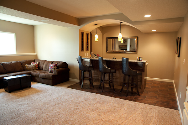 Overland Park Basement Remodeling Basement Finish Custom Tile Shower Magnificent Basement Remodel Kansas City